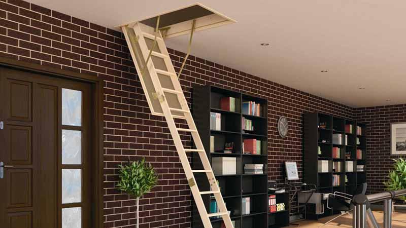 Чердачная лестница выдвижная, купить