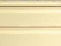 Фото наружного винилового сайдинга для отделки фасада дома, цвет - брют