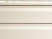 Фото винилового сайдинга для внешней отделки стен дома, цвет - дольче