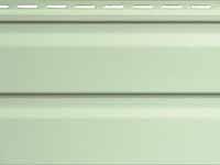 Фото винилового сайдинга для облицовки фасадов дома, цвет - верде