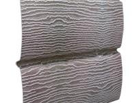 Фото винилового сайдинга для наружной обшивки фасада дома, цвет дуб серебристый