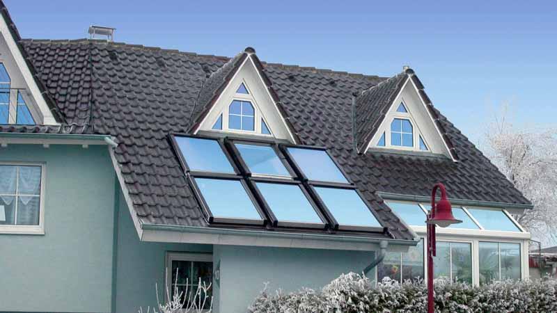 Фото мансардных окон в крыше