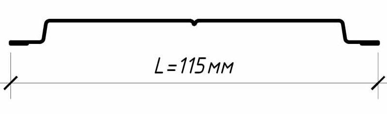Штакетник металлический Классик для забора, размеры, цена