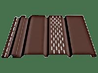 Софит «Docke» с центральной перфорацией, цвет - шоколад