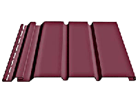 Софит «Docke» 3050мм сплошной для подшивки свесов крыши, цвет - гранат