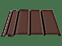 Софит «Docke» сплошной, цвет - шоколад