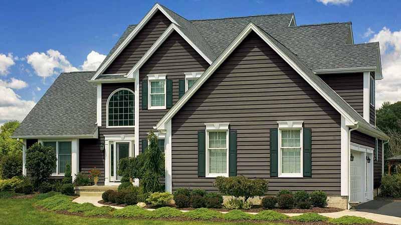 Купить акриловый сайдинг для обшивки стен дома