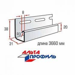 Планка J-trim для сайдинга Альта-Профиль