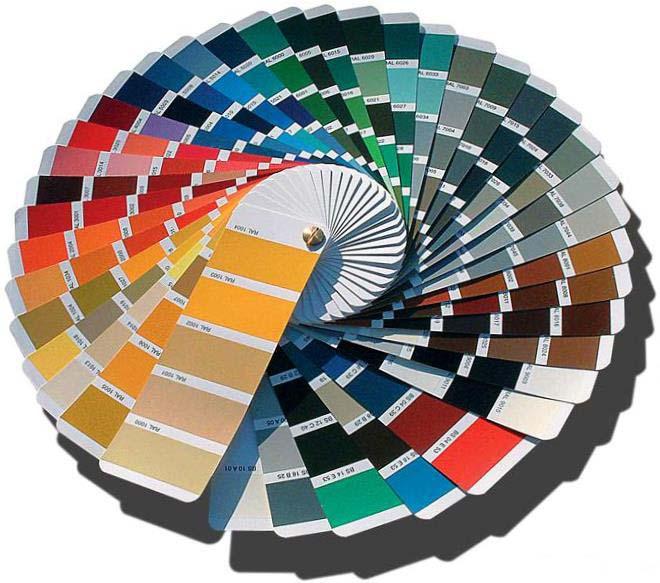 Металлический штакетник, цвета по каталогу Рал
