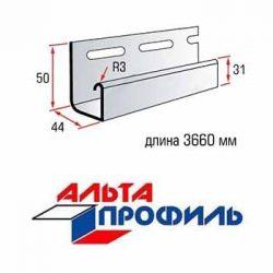 Планка J-trim для сайдинга «Альта Профиль» серии «Blockhouse»
