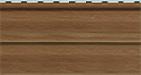 Цвет планки для монтажа винилового сайдинга серии «Канада-Плюс»- орех