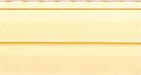 Цвет планки для монтажа винилового сайдинга серии «Канада-Плюс»- грушевый