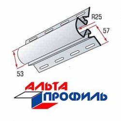 Угловая радиусная планка для сайдинга Альта-профиль