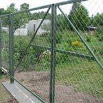 Ворота и калитки из сетки рабицы