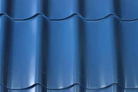 Фото образца металлопрофиля с покрытием Пуретан