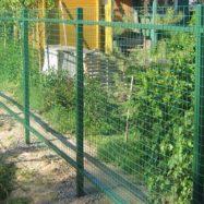 Предлагаем купить заборную сварную оцинкованную сетку с покрытием ПВХ