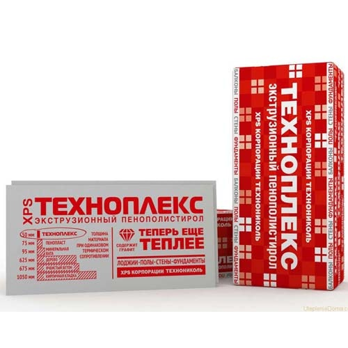 Экструзионный пенополистирол Технониколь Техноплекс, цена