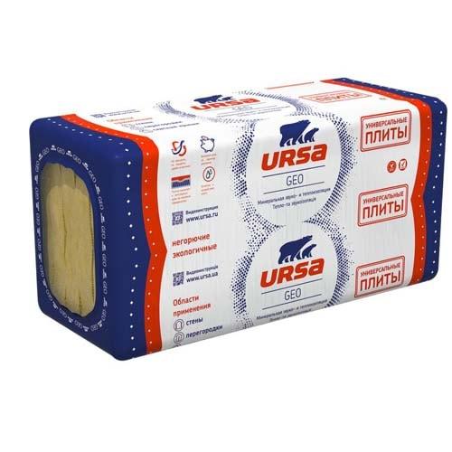 Минеральная вата URSA GEO универсальные плиты, цена