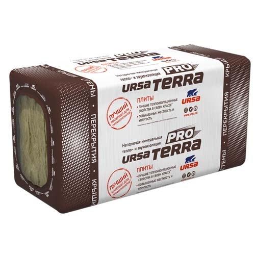 Минеральная вата в плитах URSA TERRA 34 PN PRO