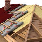 Утеплитель в рулонах и матах для крыши, цена