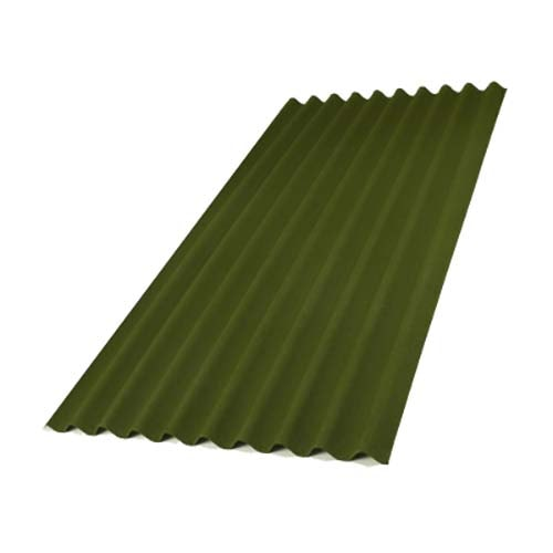 Лист ондулина Смарт зеленого цвета, размеры, цена