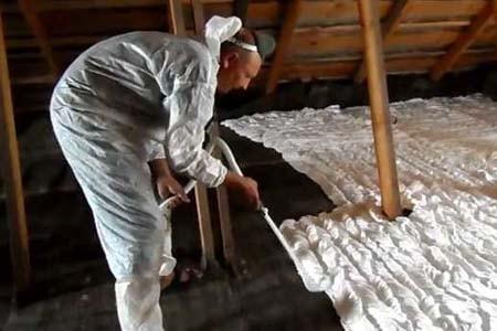 Жидкий утеплитель для пола, стен, потолка