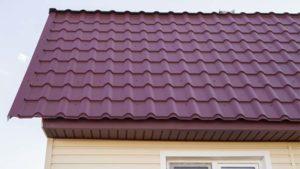 Черепица Kamea, фото крыши дома