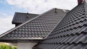 Крыша из модульной черепицы Руукки Финнера, фото дома