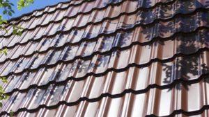 Металлическая черепица Квинта, фото крыши