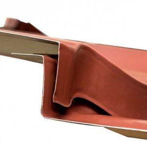 Стальной лист модульной металлической черепицы Максима