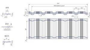 Технические характеристики черепицы Гранд Лайн Квадро