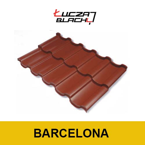 Металлочерепица Барселона от польского производителя