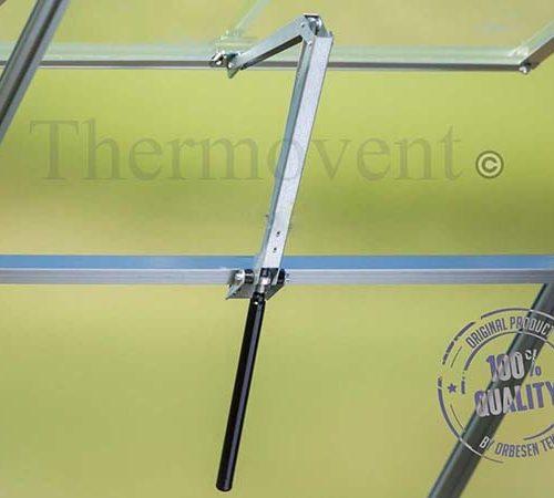Фото механизма автоматического проветривания теплиц от датского производителя