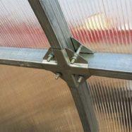Теплицы с системой крепления Краб, фото и отзывы на сайте