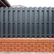 Забор из штакетника Классик от производителя Юнис Трейд