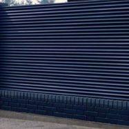 Металлический забор-жалюзи Твинго от производителя Юнис Трейд