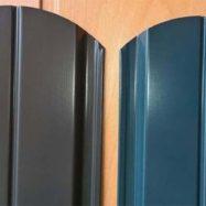 Металлический штакетник для заборов от производителя Юнис Трейд