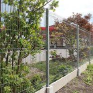 Забор из сварной сетки гиттер
