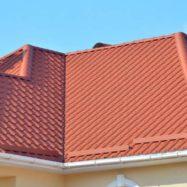 Металлочерепица Kamea, фото крыши