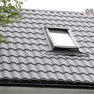Крыша дома из металлочерепицы Kredo, фото