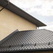 Фото крыши из металлочерепицы Кредо, производитель Гранд Лайн