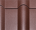 Гранд лайн (Grand Line) металлочерепица от производителя, покрытие Полидекстр Мат фото