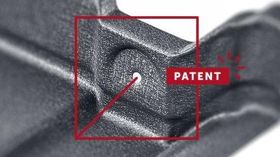 Монтажные отверстия в металлочерепице Мурано, патент Будмат