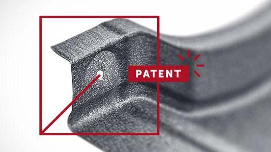 Монтажные отверстия в металлочерепице Rialto, патент Будмат