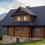 Фото дома, покрытого металлочерепицей Diament Plus