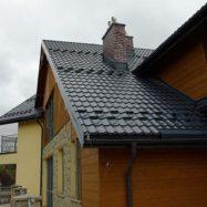 Фото крыши из металлочерепицы Kingas