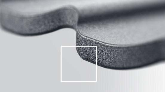 Запатентованное решение Budmat изгиб нижней части листа, металлочерепицы Белла Сара