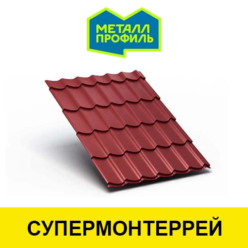 Металлочерепица SuperMonterrey от производителя Металл Профиль