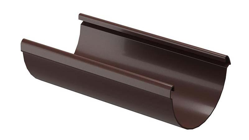 Желоб водосточный цвет шоколад
