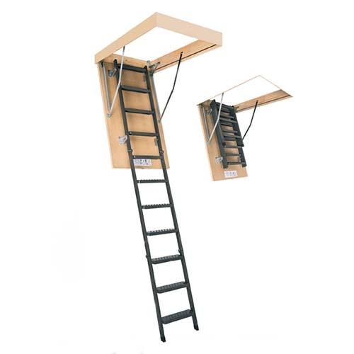 Складная металлическая лестница LMK